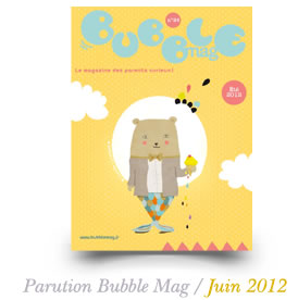 Parution Bubble Mag / Juin 2012